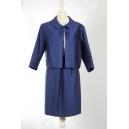 Tailleur blu anni '60