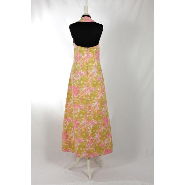 Vestito lungo Vintage anni  70 - unenouvellevie 12f0582a856