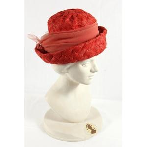 Cappellino rosso Vintage
