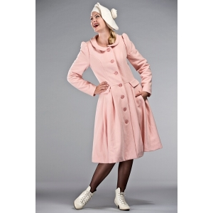 Cappotto rosa pallido