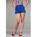 Shorts blu royal